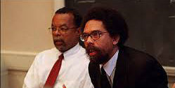 Henry Louis Gates Jr. and Cornel West photo