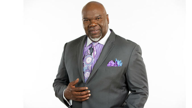 T  D  Jakes, Author Info, Published Books, Bio, Photo, Video, and More