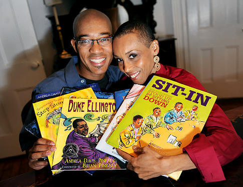 Andrea Davis Pinkney and Brian Pinkney photo