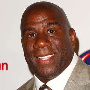 Earvin Magic Johnson photo