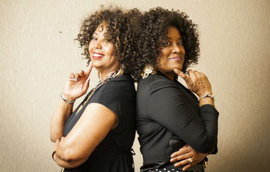 Sharon Bennett & Beatrice Moore photo