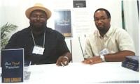 Author, Tony Lindsay & Publisher, Kwame 
