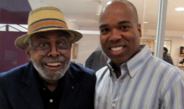 Amiri Baraka with AALBC.com Founder Troy Johnson