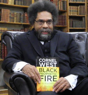 Black Prophetic Fire with his book