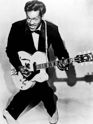 Chuck Berry publicity still from 1957