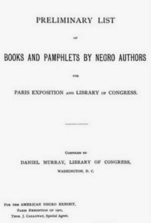 Books and Pamphlets by Negro Authors