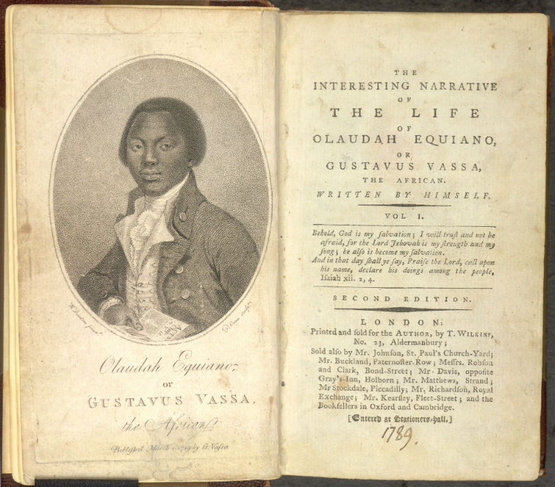 Two Pages from the Interesting Life of Olaudah Equiano