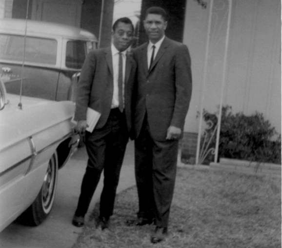 James Baldwin with Medgar Evers