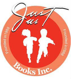 Image result for just us books logo