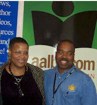 Terrie Williams and AALBC.com founder, Troy Johnson