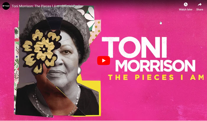 Toni Morrison documentary film trailer