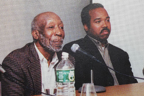 John A. Williams on a panel with Troy Johnson