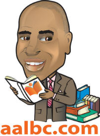 Caricature of AALBC.com Founder, Troy Johnson