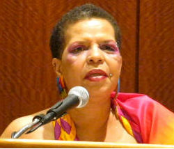 Ntozake Shange by Troy Johnson