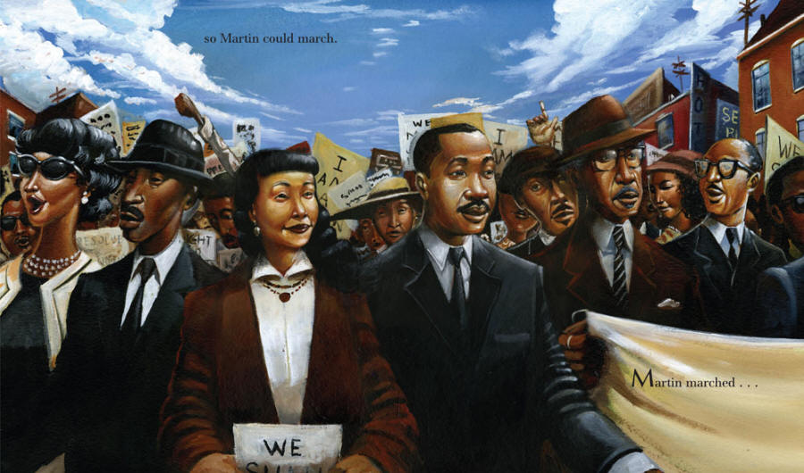 Our Children Can Soar: A Celebration of Rosa, Barack, and the Pioneers of Change - Martin Luther King