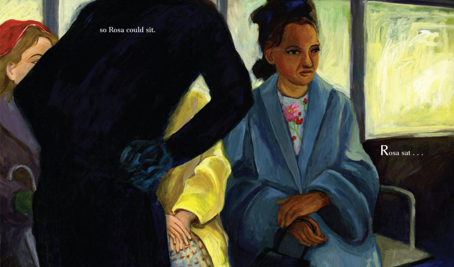 Our Children Can Soar: A Celebration of Rosa, Barack, and the Pioneers of Change - Rosa Parks