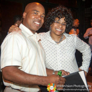 AALBC.com Founder Troy Johnson and Power List Bestselling Author Wahida Clark