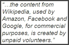 Wikipedia Content Use