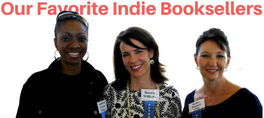 Kimberla Lawson Roby, Beatrix Williams and Shelly Shepard Gray described their favorite independent bookstores