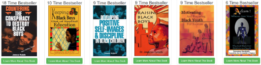Dr. Jawanza Kunjufu is Our #2 All-Time Bestselling Author