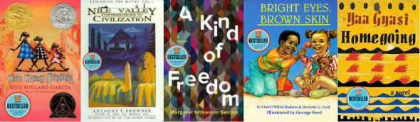 October bestsellers
