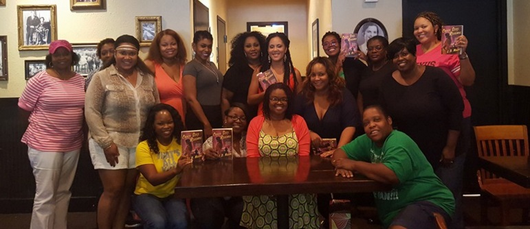 The Nubian Circle Book Club group photo