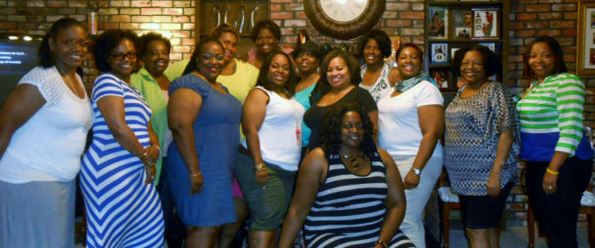 The Imani Book Club group photo