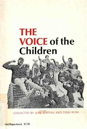 Click for more detail about The Voice of the Children by June Jordan
