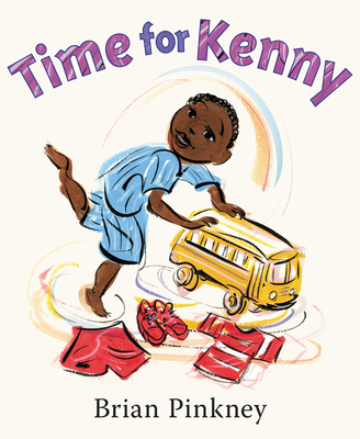 Book Cover Time for Kenny by Andrea Davis Pinkney and Brian Pinkney