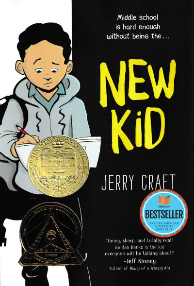 Click for more detail about New Kid by Jerry Craft