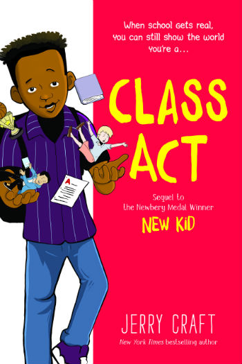 book cover Class Act by Jerry Craft