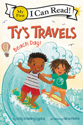Book Cover Ty's Travels: Beach Day! by Kelly Starling Lyons