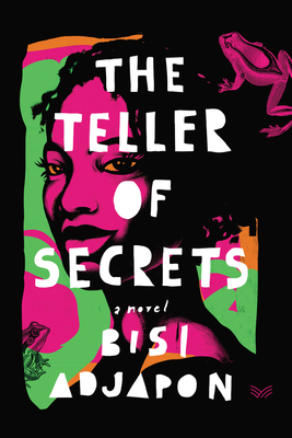 Book Cover The Teller of Secrets by Bisi Adjapon