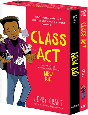 Book Cover New Kid and Class Act: The Box Set by Jerry Craft