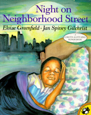 Click for more detail about Night on Neighborhood Street (Picture Puffins) by Eloise Greenfield