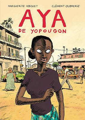 Book Cover Aya by Marguerite Abouet