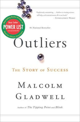 Click for a larger image of Outliers: The Story of Success