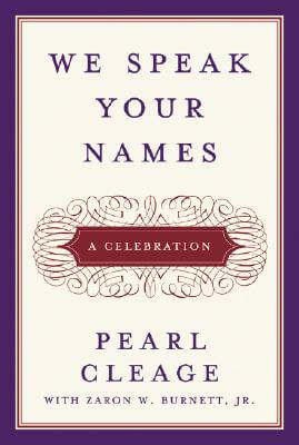 Click to buy a copy of We Speak Your Names: A Celebration