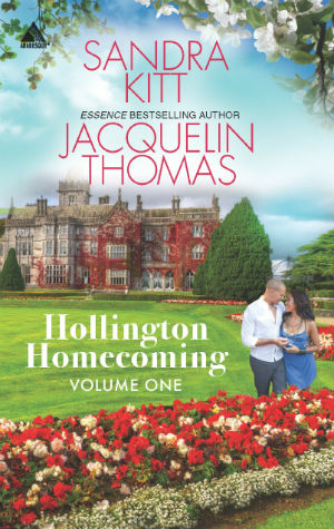 Book Cover Hollington Homecoming, Volume One: RSVP with LoveTeach Me Tonight by Sandra Kitt and Jacquelin Thomas