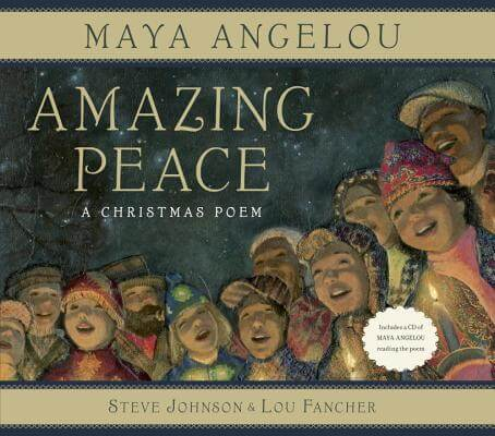 Book Cover Amazing Peace by Maya Angelou