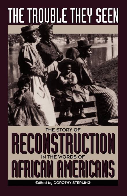 Book Cover The Trouble They Seen: Black People Tell the Story of Reconstruction by Dorothy Sterling