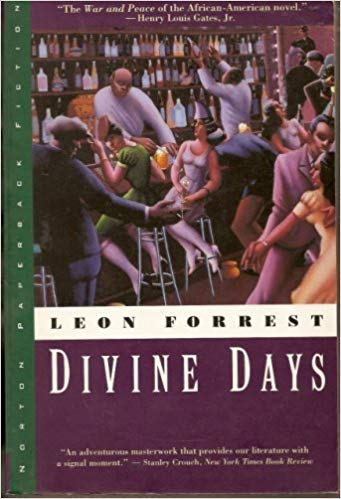 Book Cover Divine Days by Leon Forrest