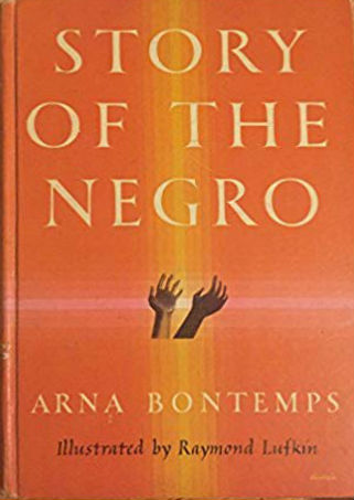 Book Cover Story of the Negro by Arna Bontemps