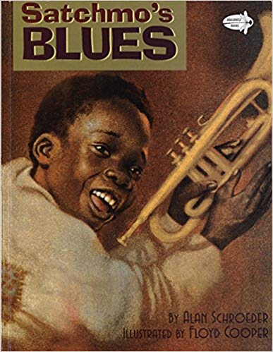 Book Cover Satchmo's Blues by Alan Schroeder