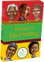 Click for more detail about Heroes of Black History by Bonnie Bader