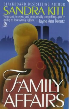 Book Cover Family Affairs by Sandra Kitt