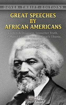 Click for a larger image of Great Speeches By African Americans: Frederick Douglass