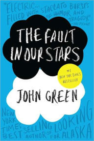 book cover The Fault in Our Stars