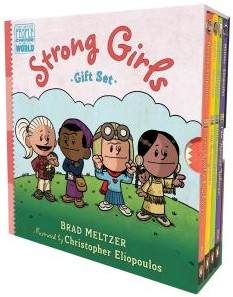 Click for more detail about Strong Girls Gift Set by Brad Meltzer