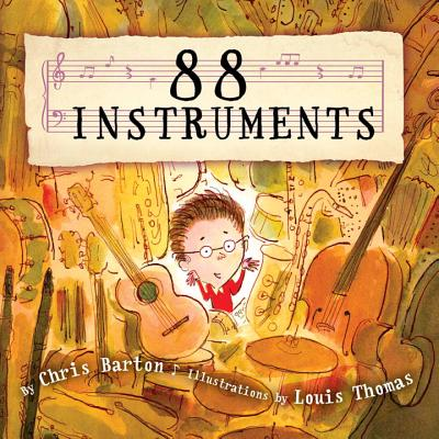 Book Cover 88 Instruments by Chris Barton